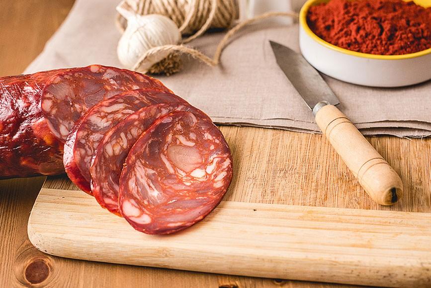 Chorizo extra Vela dulce / picante